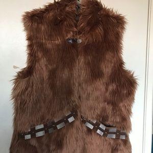 Chewbacca Vest Women's Large